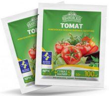 Удобрение Фермерское Хозяйство Ивановское «Томат» комплексное, 50 гр